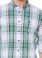 U.S.Polo Assn. Kareli Gömlek Yeşil